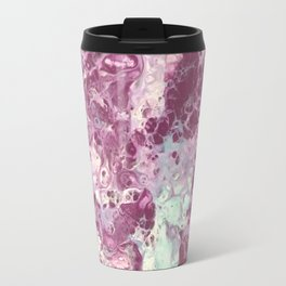 Marbled Purple Sea Travel Mug