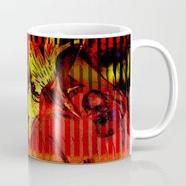 Flor kitsch I love Coffee Mug