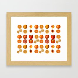 Fruit Attack Framed Art Print