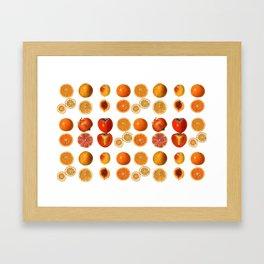Fruit Attack Framed Art Print