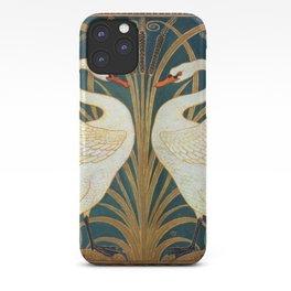 Walter Crane Swan, Rush And Iris iPhone Case