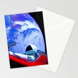 Tesla's Starman Stationery Cards