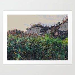 Hills and mountains Art Print