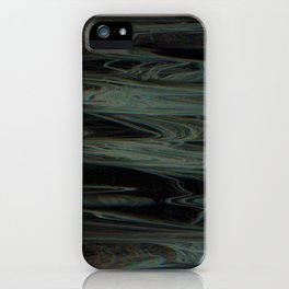 Scattered Waves: Calm Surf iPhone Case