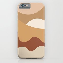MOUNTAIN DREAMS - beautiful abstract art iPhone Case