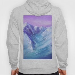 Mountain Painting for Fathers Day Hoody