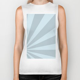 Retro sunburst style abstract background Biker Tank