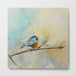 Little Bird 3473 Metal Print