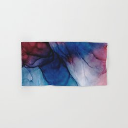 Caterpillars - Flowing Abstract Painting Hand & Bath Towel
