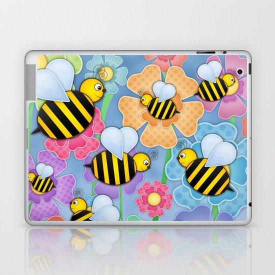 Busy Buzzers. Laptop & iPad Skin