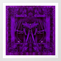 leather Art Prints featuring Leather Man by Pepita Selles