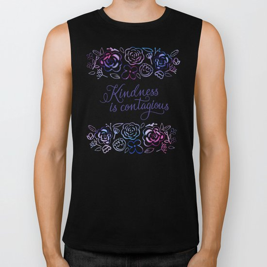 Kindness is Contagious Biker Tank