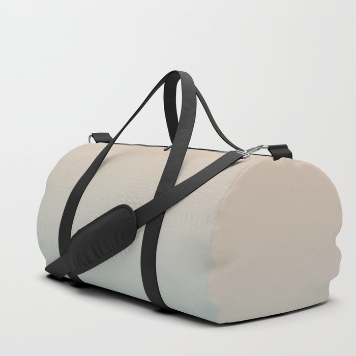 HALF MOON - Minimal Plain Soft Mood Color Blend Prints Duffle Bag