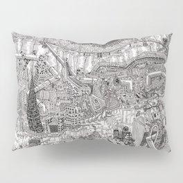 Imaginary Cityscape Pillow Sham