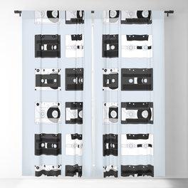 Cassette Pattern #4 Blackout Curtain