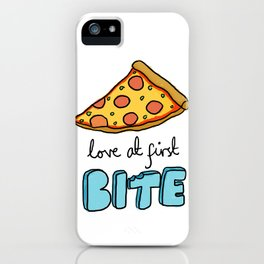 love at first bite  iPhone Case