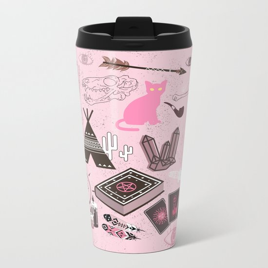 The gypsy Collection - Wild and Free Metal Travel Mug