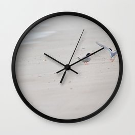 Yelling at each other Wall Clock