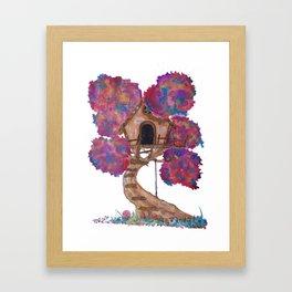 Treehouse II Framed Art Print