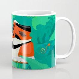 Jordan 1 OG Nature Flower Garden Coffee Mug