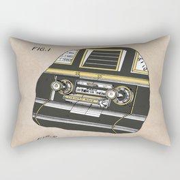 patent Selective stereo tape cartridge player Rectangular Pillow