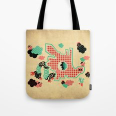 Dragon Playground Tote Bag