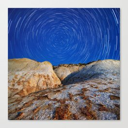 Up To the Milky Way Canvas Print