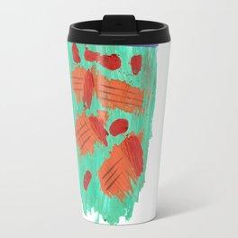Traces on a grass... Travel Mug