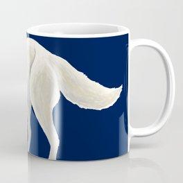 Arctic Fox Wolf during Night in the North Coffee Mug