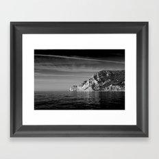 Bright As Night Framed Art Print