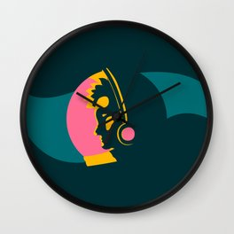 Astronauts need personal space too Wall Clock