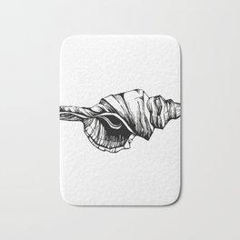 Shell Sketch Bath Mat