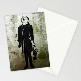 Virus Girl Stationery Cards