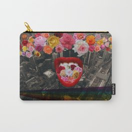 Flower  Vomit Carry-All Pouch