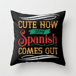 Spain Spanish Throw Pillow