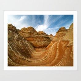 The Wave-Paria Wilderness Art Print