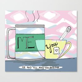 Me and You Canvas Print