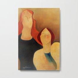 Two women Metal Print