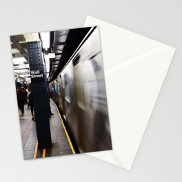 Wallstreet Subway Stationery Cards