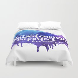 Perfect For A Person Duvet Cover