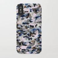 camo iPhone & iPod Cases featuring Camo by Josie Stevenson