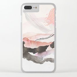Day 25: The natural beauty of one thing leading to another. Clear iPhone Case