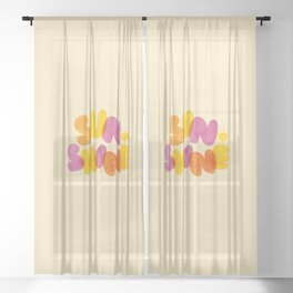 Sunshine Sheer Curtain