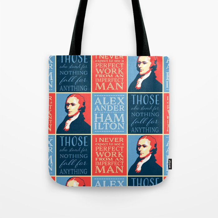 5052105c4dbf Alexander Hamilton Quotes Tote Bag by antiqueimages | Society6