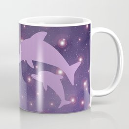Parent-child of dolphin in Universe _03 Coffee Mug