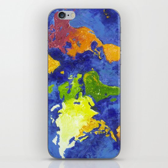 The World iPhone & iPod Skin