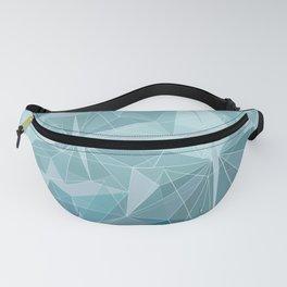 Winter geometric style - minimalist Fanny Pack