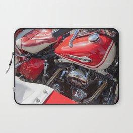 Harley w/sidecar Laptop Sleeve
