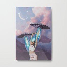 UFO Magic Metal Print