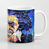 einstein Mugs featuring Einstein by FEENNX